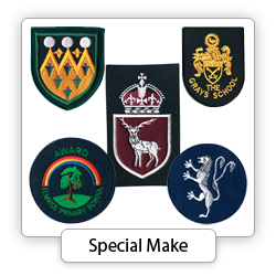 Embroidered Badges - Special Make