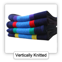 Vertically Knitted Scarf
