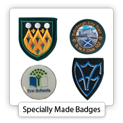 Specially Made Badges