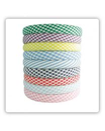 Alice Bands - Gingham fabric (3851)